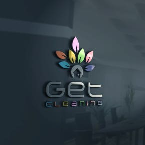 Get Cleaning Logo